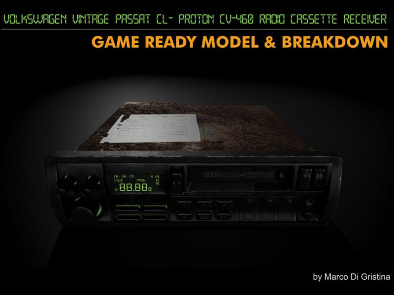 Volkswagen Passat - Radio Cassette Receiver