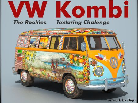 Sicilian Kombi - Texturing Challenge