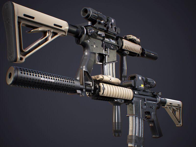 Colt M4A1 CQBR