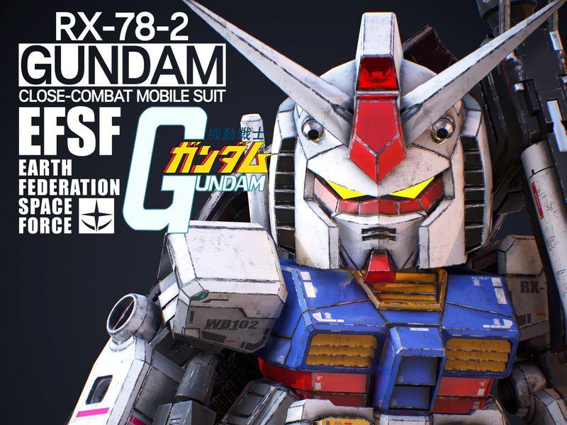 RX-78-2 GUNDAM SD Ver.