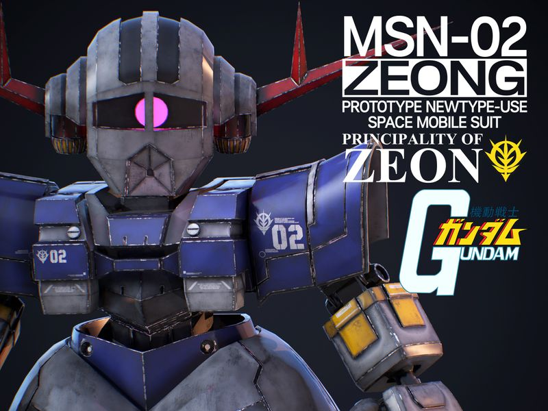 MSN-02 ZEONG SD Ver.
