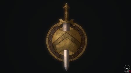 Greek Sword and Shield