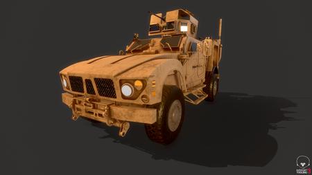 Vehicle Oshkosh M-ATV