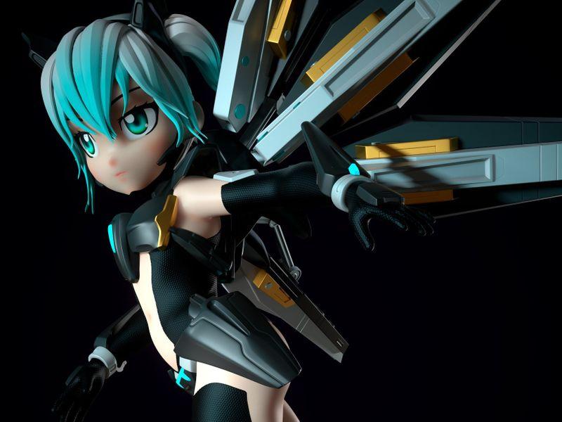 IKEMI - Knight girl
