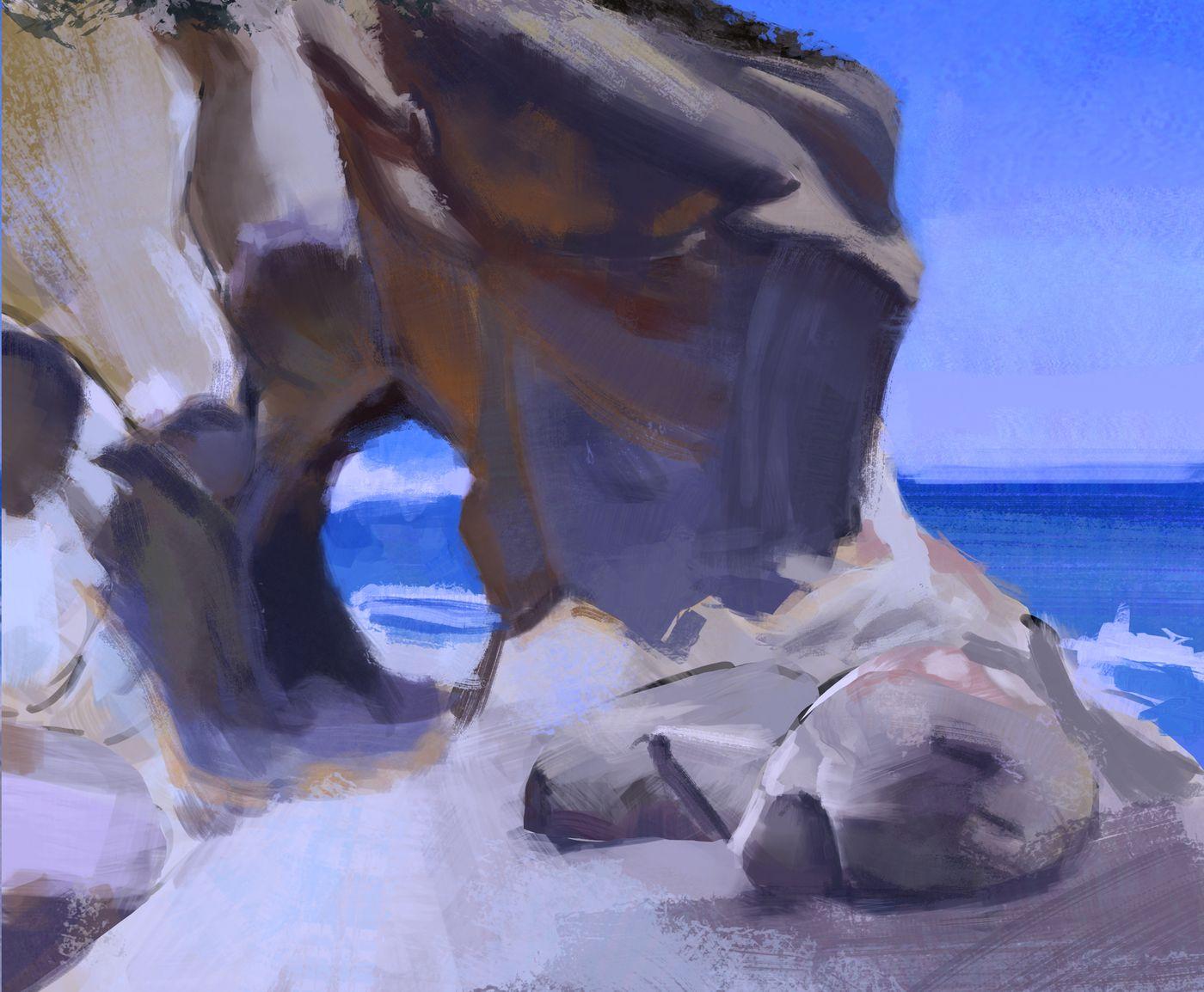 Painting Studies Djasko