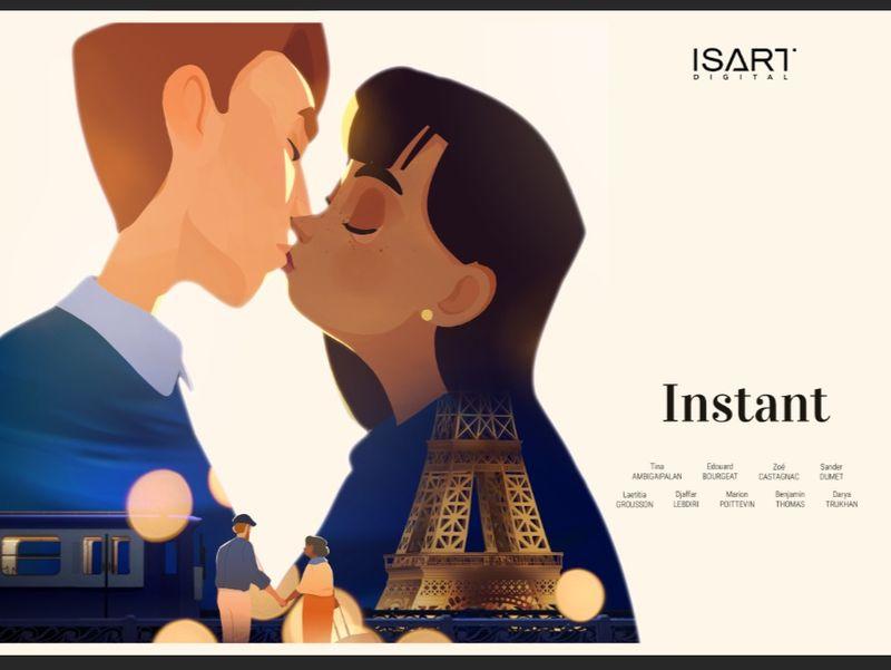 Instant - Graduation Short Movie - Isart Digital 2019