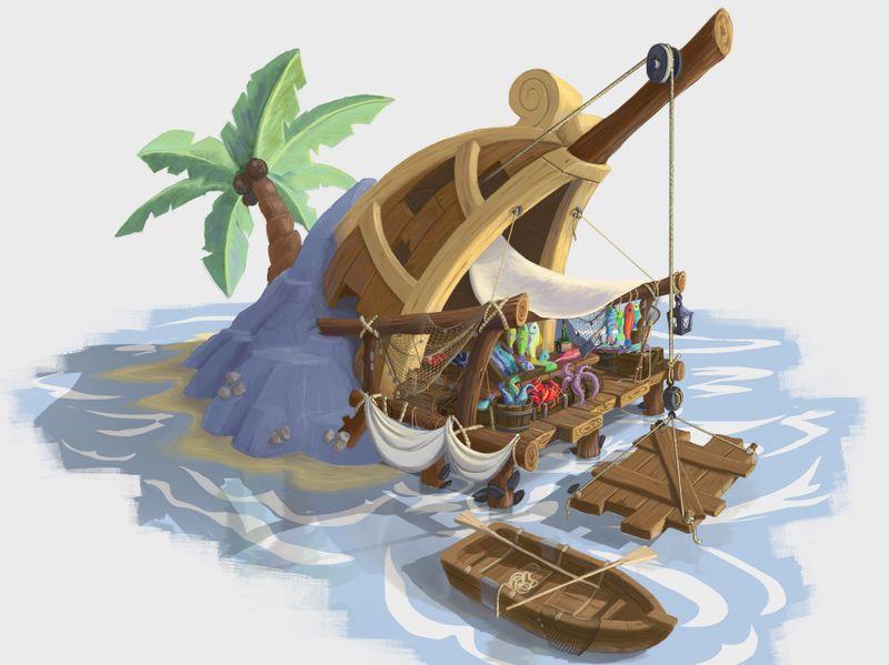 ShipWreck Fishmonger