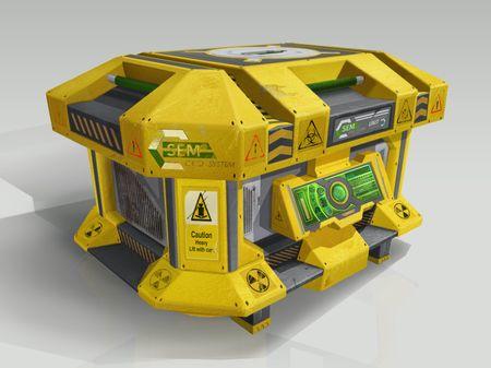 Sci-Fi Crate Design