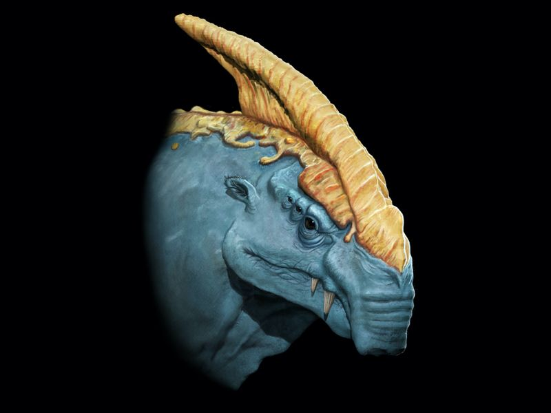 Alien Creature Bust