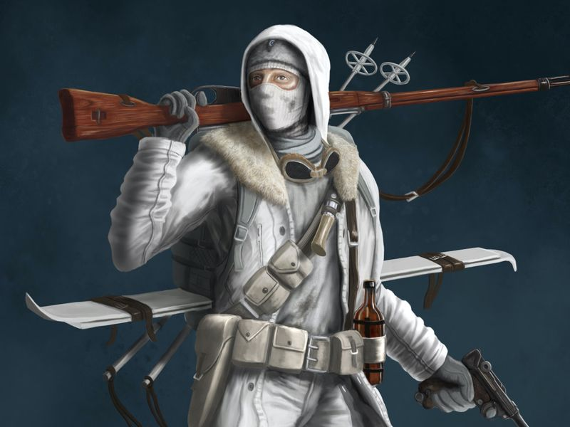 WW2 Ski Trooper