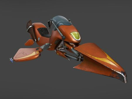 new and improved hoverbike