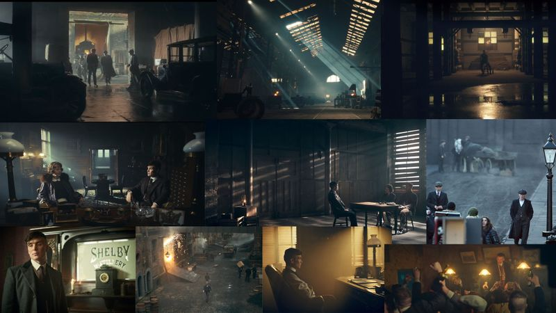 Peaky Blinders Environment