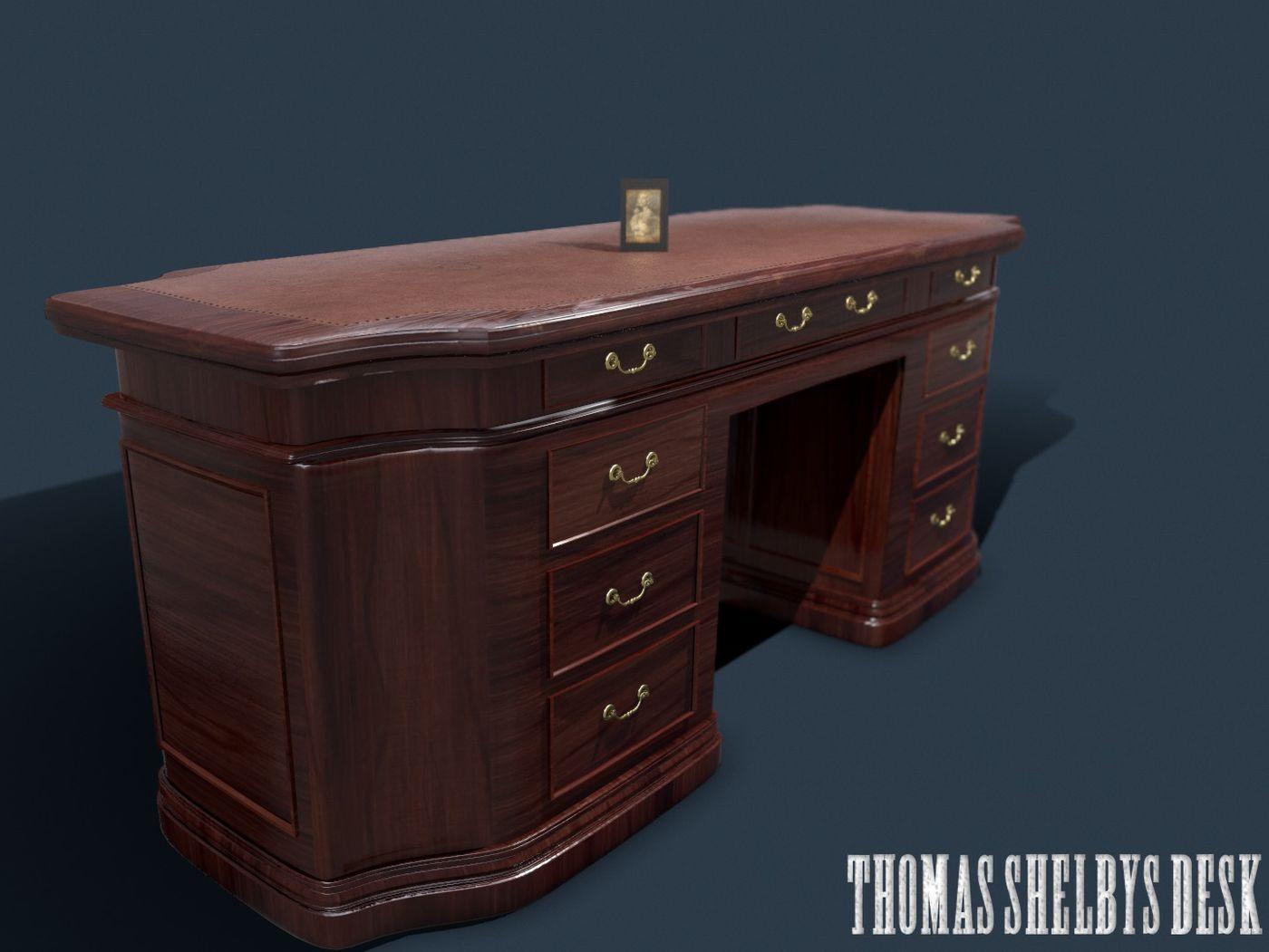 Thomas Shelby's Desk