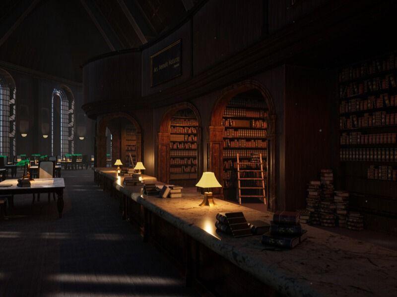 Reading Room - UE4