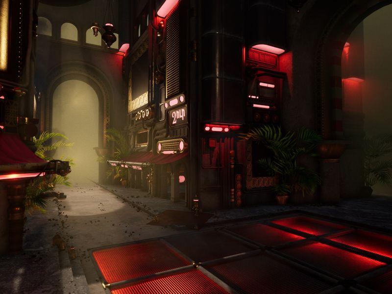 Steampunk Market - UE4