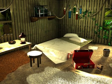 Stranded -3D Environment