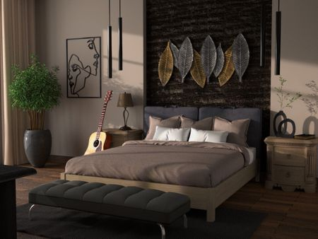 Bedroom Architectural Visualisation