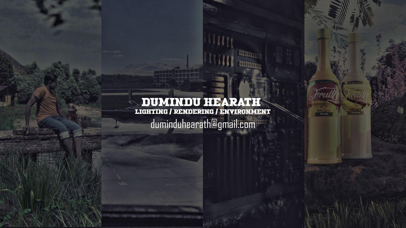 Dumindu Hearath Lighting rendering environment show reel