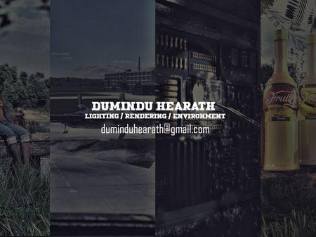 Dumindu Hearath Lighting rendering environment shawreel