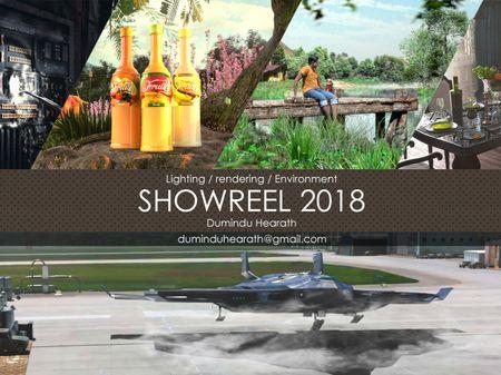Lighting,Rendering, Environment ShowReel 2018