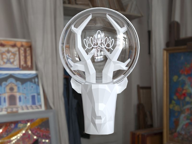 🦌Ohmygirl cheer stick: Deer My Bong🦌