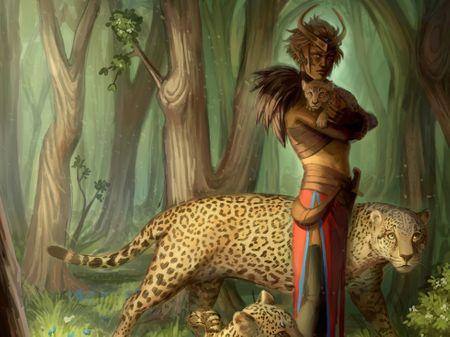 Illustration of Diane Naughton