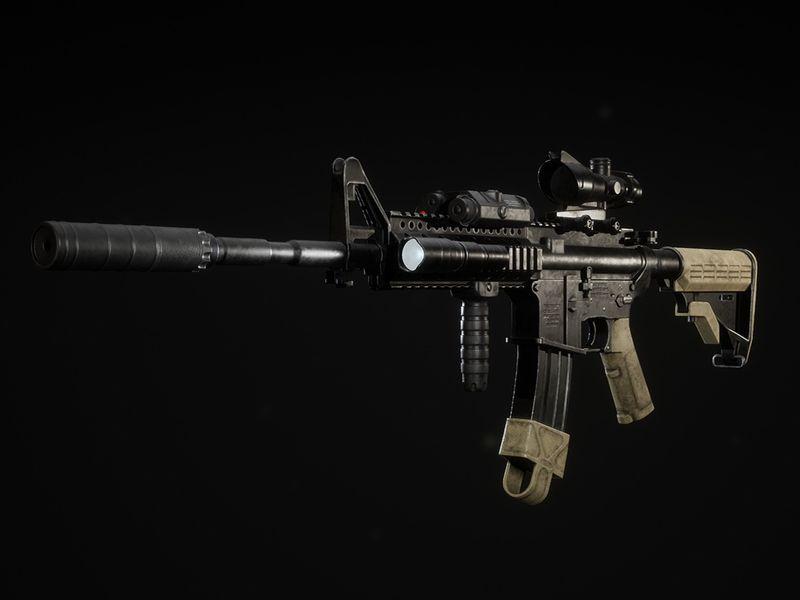 M4A1 Configurator