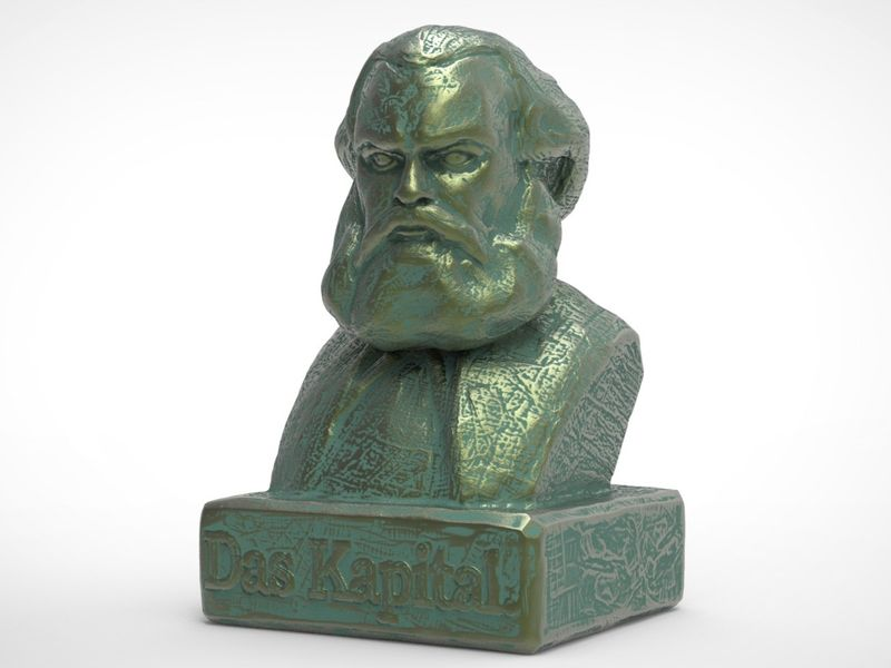 Karl Marx Speedsculpture