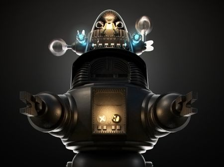 "Robby the Robot ""Forbidden Planet"""