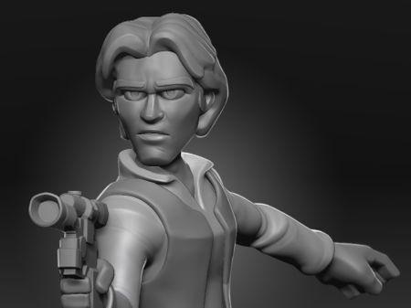 Han Solo - Disney Infinity (Fan Art)