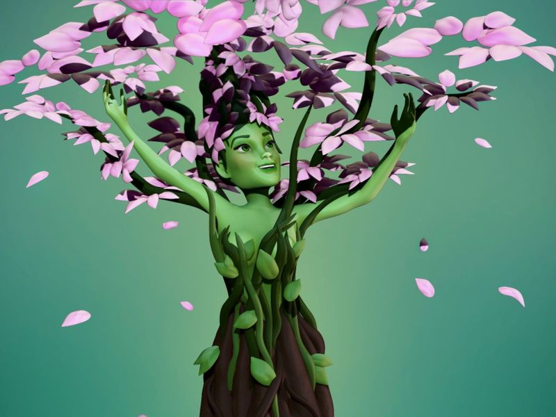 """Nature"" - #Sculptober Day 10"