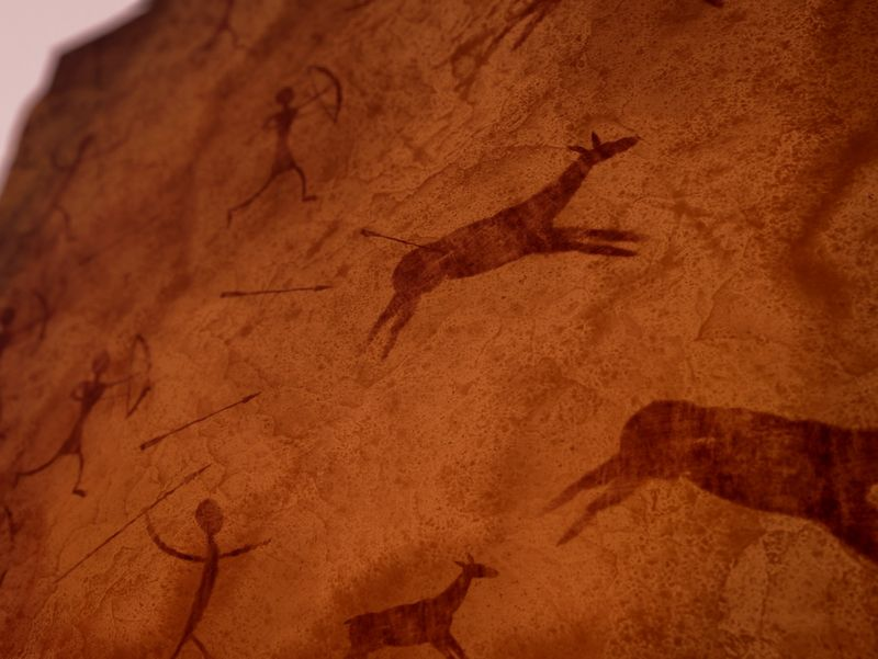 Procedural Cave Painting - Nodevember
