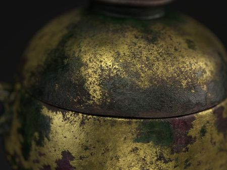 Chinese Incense Burner - Texturing Study
