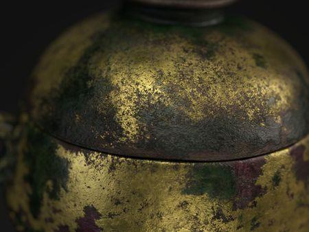 Chinese Incense Burner - Texturing Study