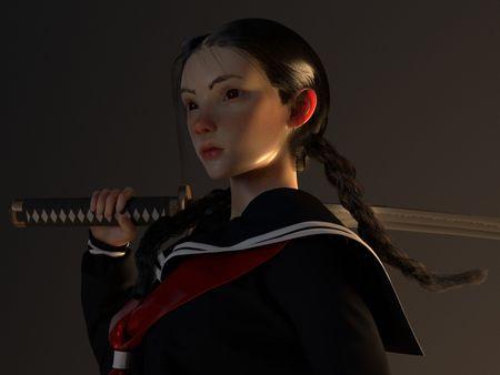 Saya from Blood: The Last  Vampire