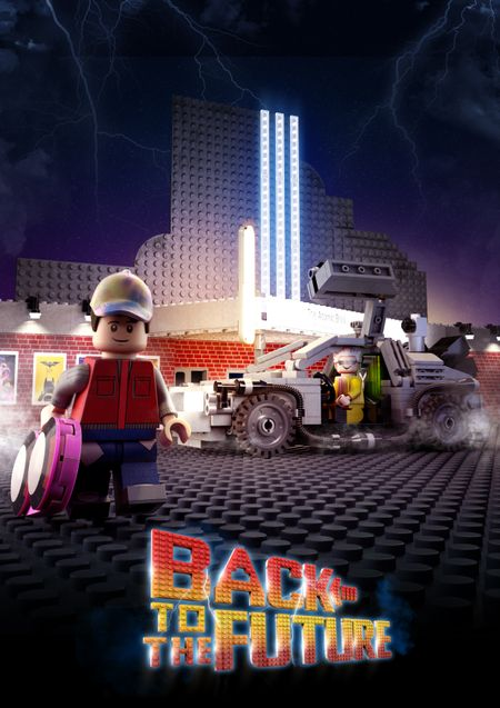 Back to the Future - Lego