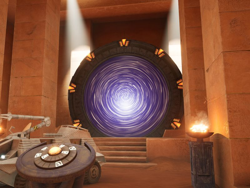 Stargate ~ Abydos Temple