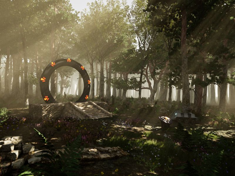 Stargate ~ Forest World