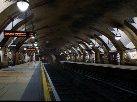Baker Street - UE4 environment