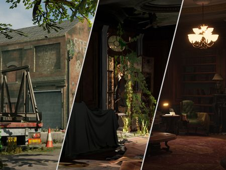Eddie Stevenson 3D Environments