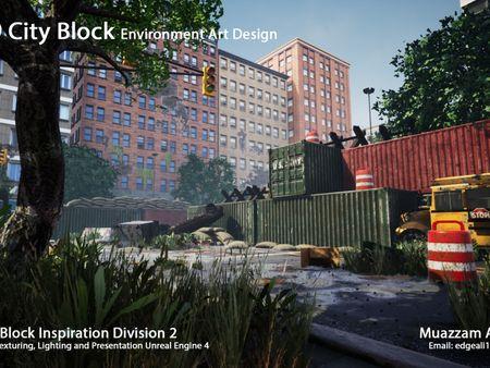 Sector 9 Game Environment Design