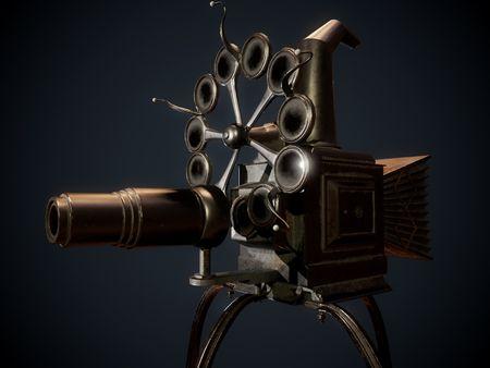 Harry Potter Hogwarts Classroom Projector - 3D Game Environment Prop