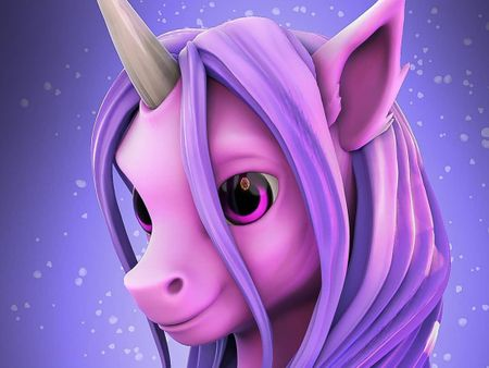 Stylized Unicorn