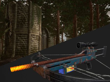 Ruins & Half-Life 2 Crossbow - remastered