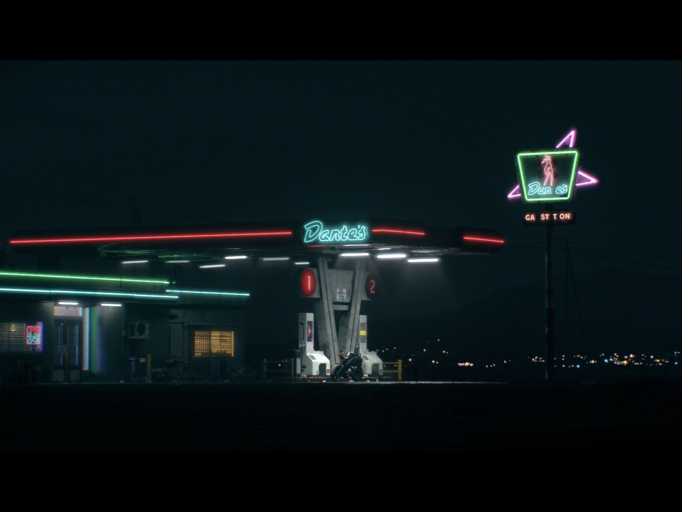 Dante's Gas Station