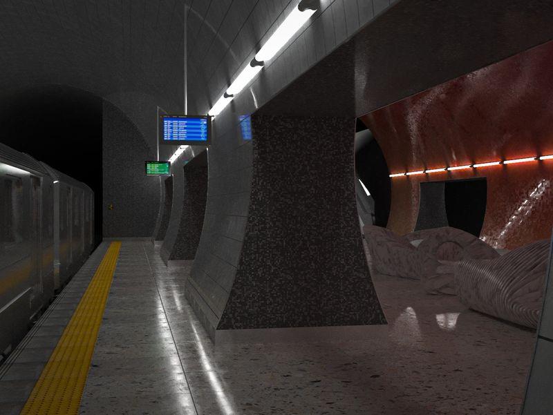Jonah and the Metro