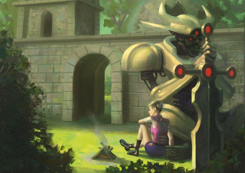 A Girl & Her Robot II