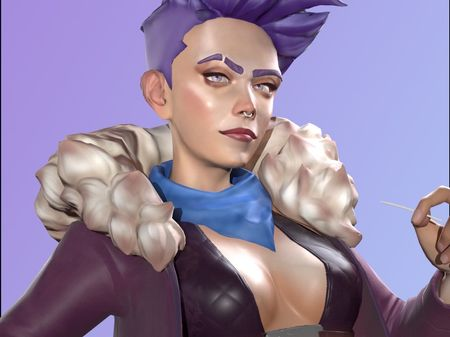 Stylized Real-time Character
