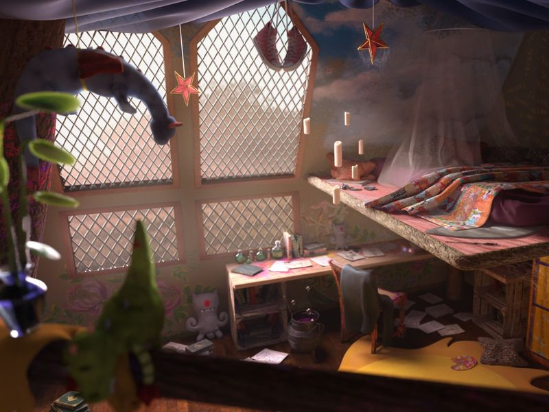 Luna Lovegood's bedroom