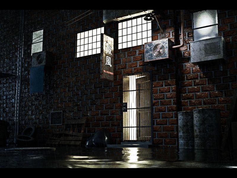 Back Alley Environment